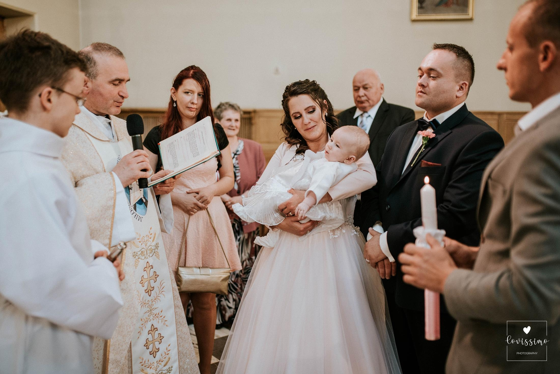 Fotograf ślubny Rzeszów - ślub z chrzcinami w Rzeszowie