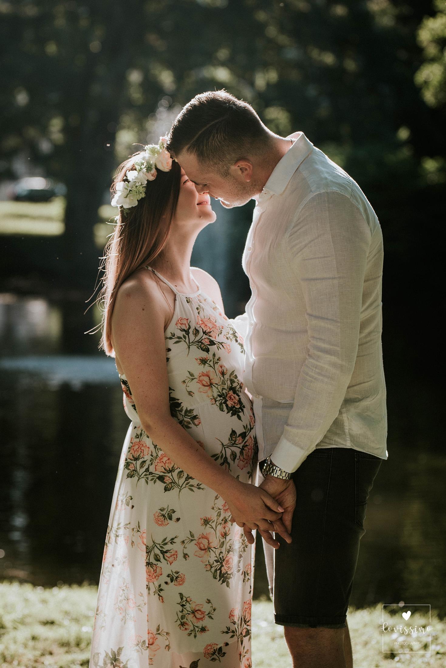Sesja ciążowa Gosi i Miłosza w Rzeszowie. Zdjęcia ciążowe Jarosław, Dębica