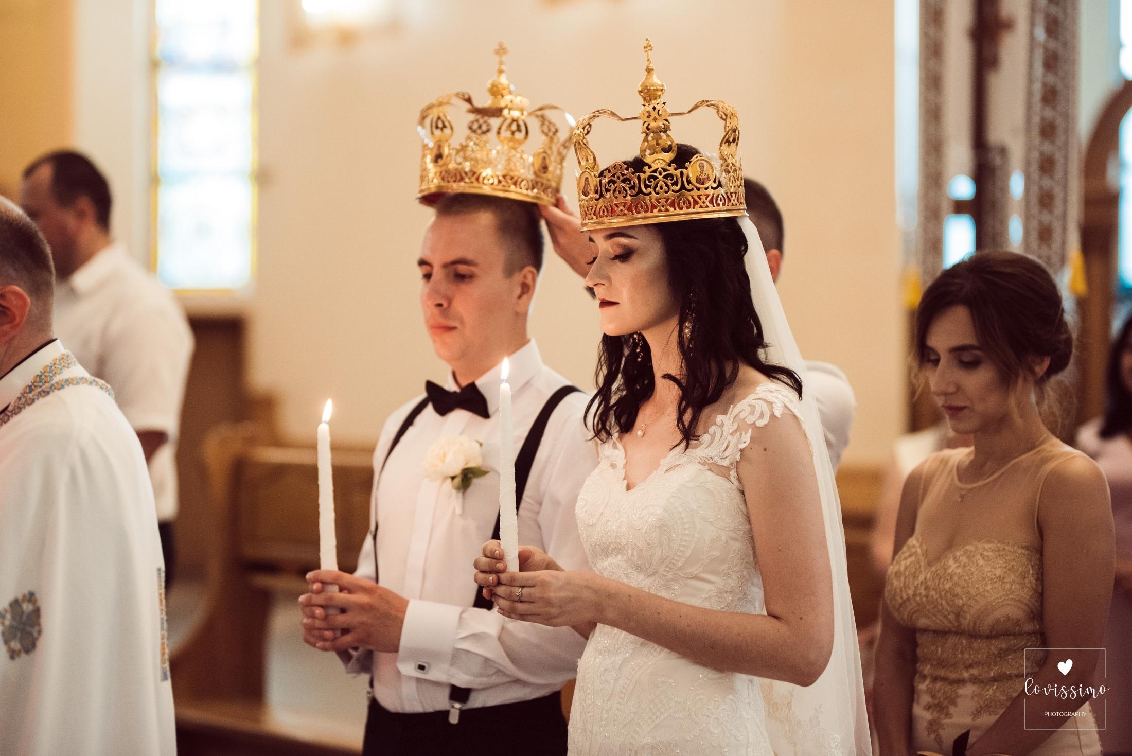 Ślub I Wesele Wiktorii I Andrieja W Cerkwi. Lwów
