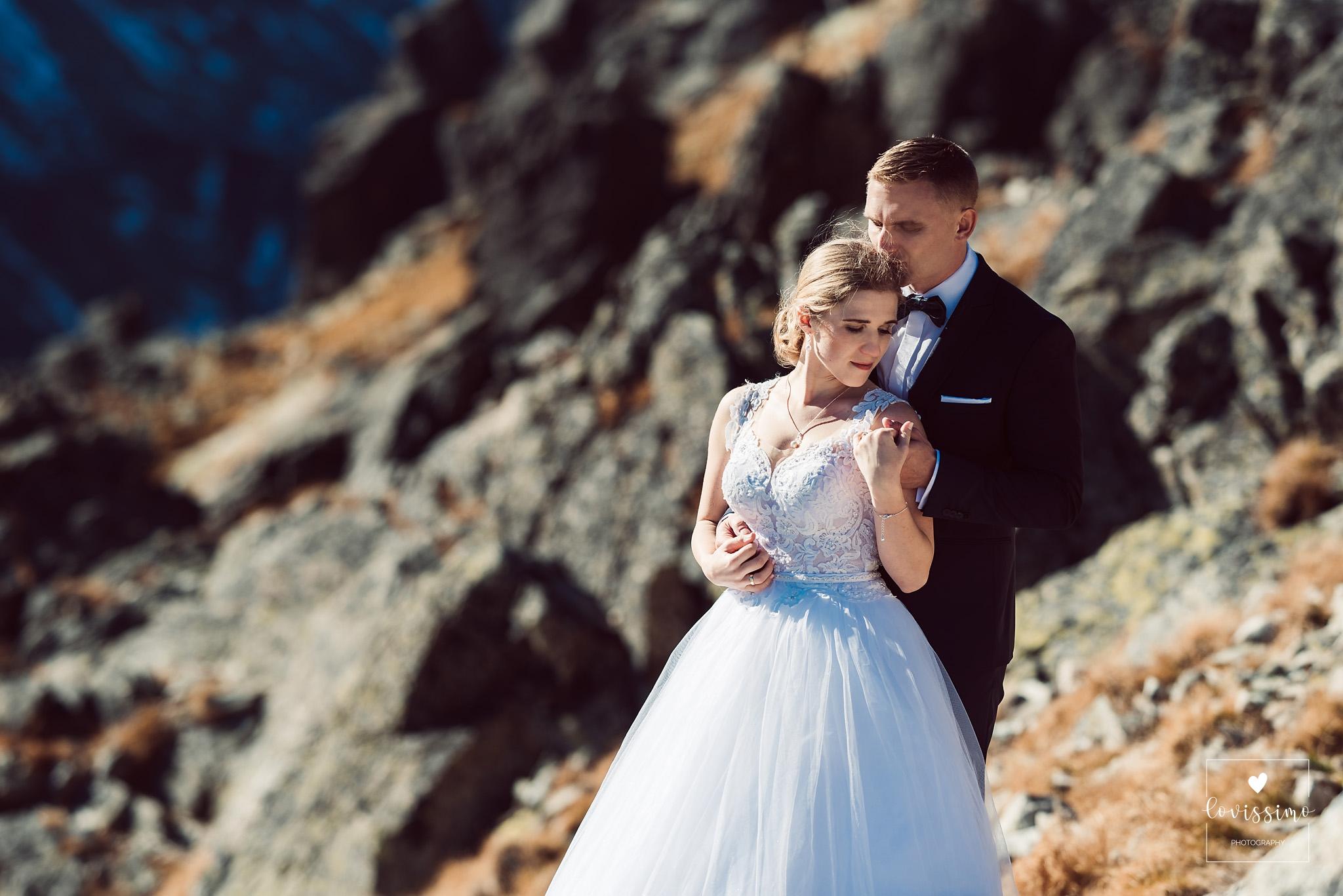 Asia I Damian. Sesja ślubna W Tatrach Słowackich