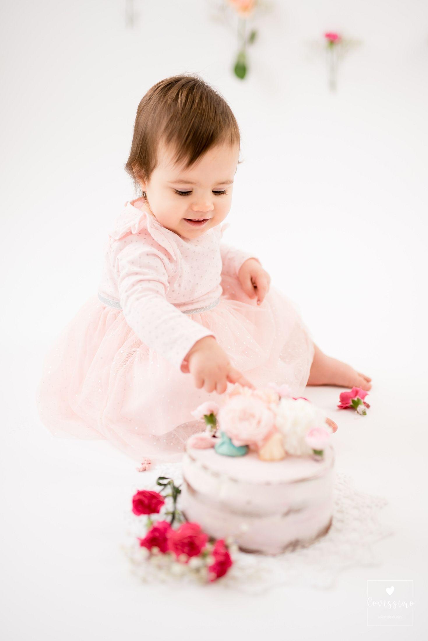 Sesja roczkowa urodzinowa dziecięca Rzeszów, cake smash, Dębica, Jarosław