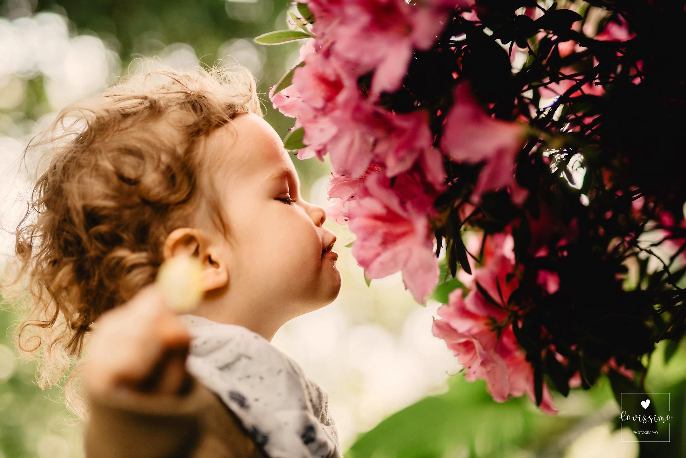 Naturalna Wiosenna Sesja Dziecięca W Wiedniu