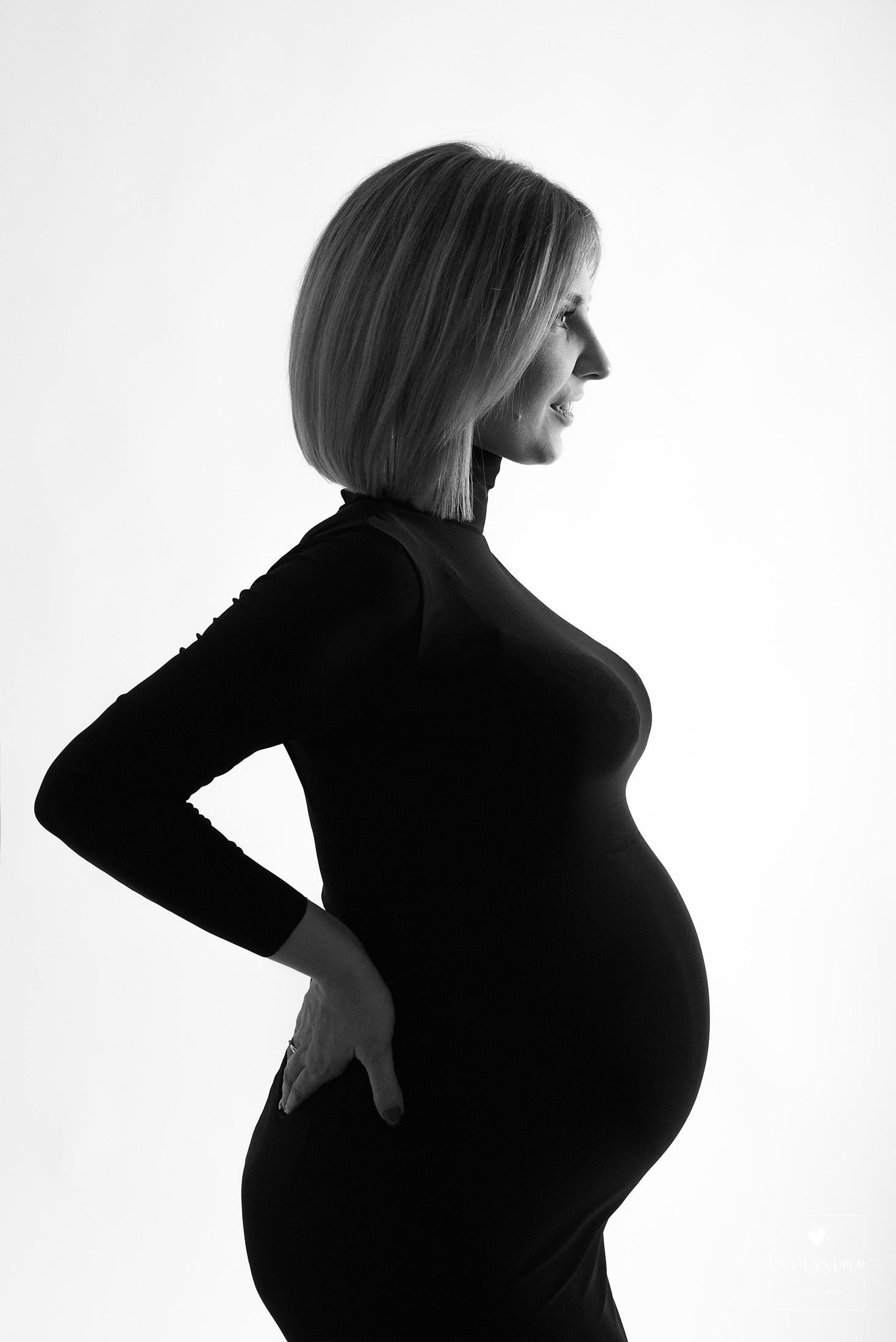 Sesja ciążowa w studiu. Rzeszów, Dębica, Jarosław