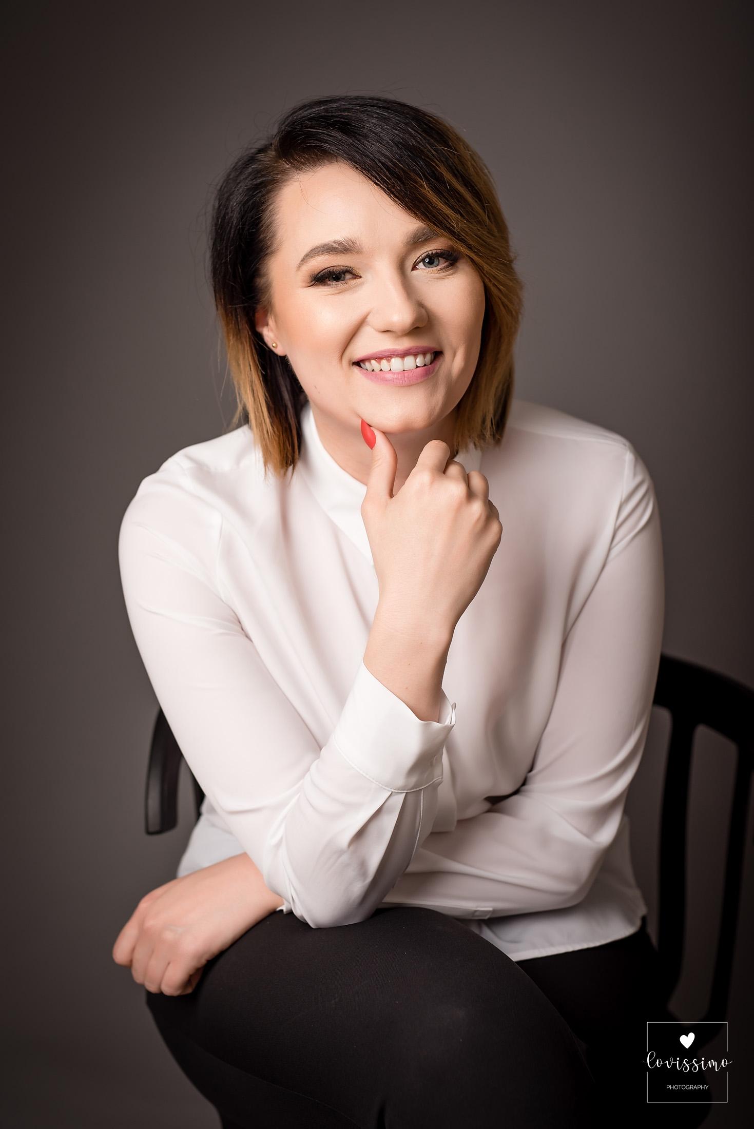 Portret biznesowy, profesjonalny, zdjęcie do cv Rzeszów