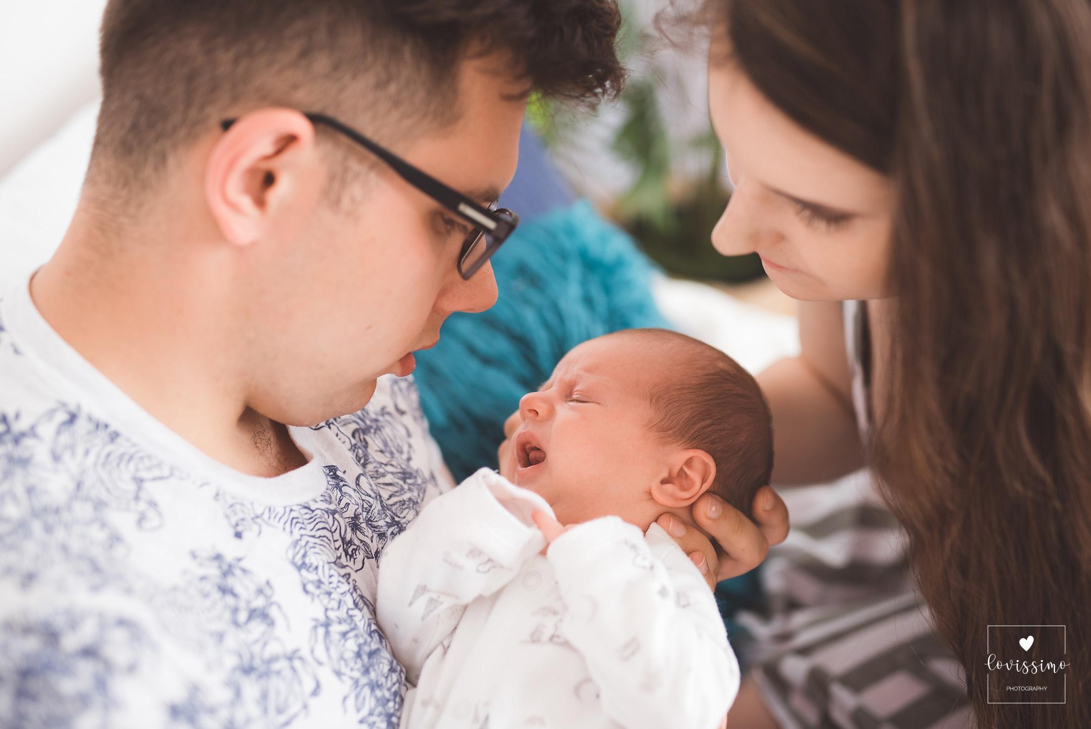 Sesja noworodkowa w domu Rzeszów