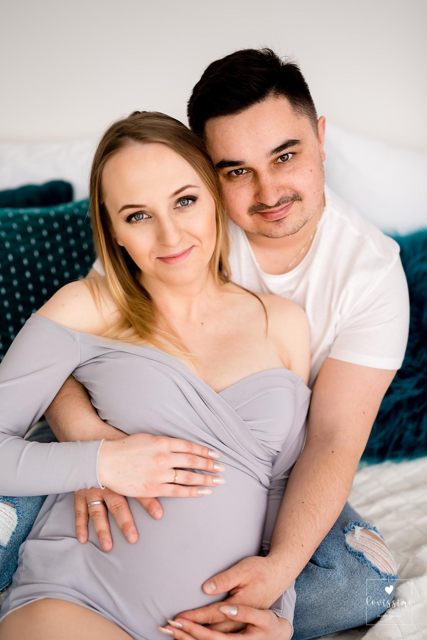Sesja ciążowa w studiu, Rzeszów