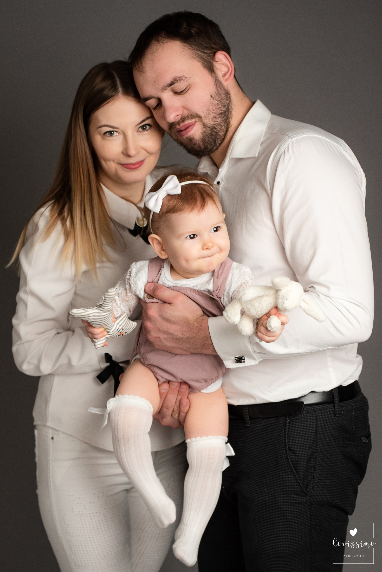 Sesja rodzinna w studio Rzeszów, fotograf dziecięcy